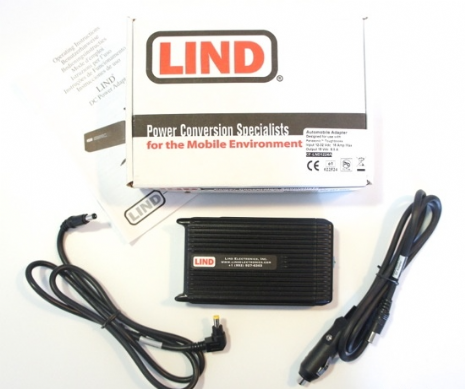 Lind CF-LND80S-FC DC Ruggedised Automobile Power Adapter - 12V